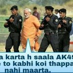 RT @aap_103: reason why nobody slapped modi #IStandWithArvind http://t.co/bMN9PuSTnZ