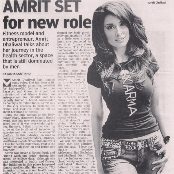 In ASIAN AGE MUMBAI this week! Ready, set, action.... http://t.co/7bXvMiG3YS