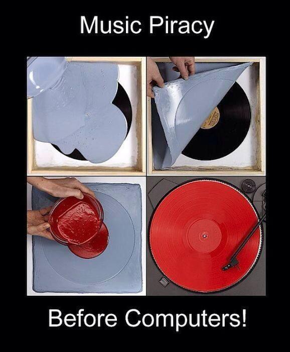 Music piracy b4 computers http://t.co/gbpcxKklCa
