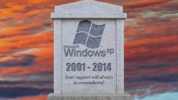 So long, old friend: Today's the last day you'll get a Windows XP update. http://t.co/kcaBQ7ikp3 #patchtuesday http://t.co/Gc2nCYj5jp