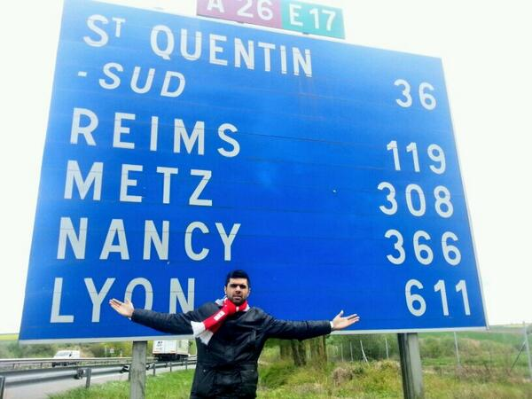From the Banks of the Irwell....to St. Quentin?..... #MunichRoadTrip