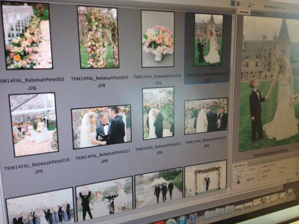 Tearing up all over again editing @allanz's stunning photos from #theknotdreamwedding #lovemyjob @theknot http://t.co/8ym7P8VrT5