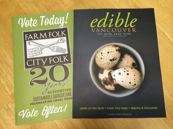 Vote Today! Vote Often! Support @EdibleVancouver & @ffcf in the Edible Cover Contest  http://t.co/DBY26XPi30 http://t.co/e6HFIE5bNT
