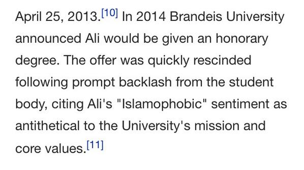Ayaan Hirsi Ali - dialogue & respect will always win.  http://t.co/YChxDcpS4v Already on Wikipedia! @ImamSuhaibWebb http://t.co/IfmnF2FF6V