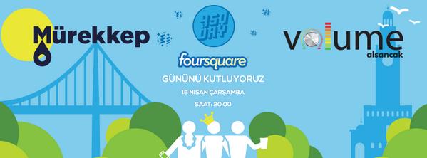 16 Nisan Çarşamba akşamı kimseye söz vermeyin! @Foursquare Günü'ne davetlisiniz… http://t.co/Oty0FiT377 #4sqDay http://t.co/oawNf79owm