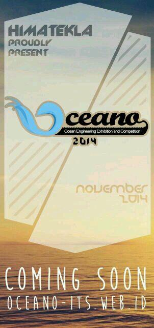 COMING SOON! Ocean Engineering Exhibition and Competition 2014 http://t.co/0hdlKTq1zv