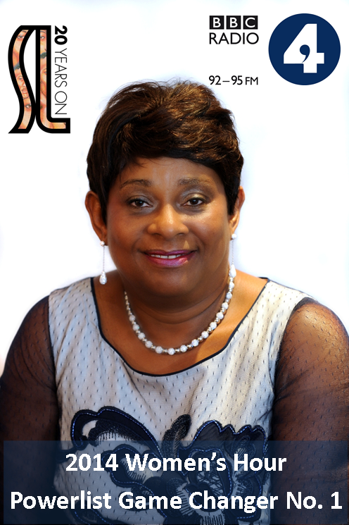 We are pleased that Baroness #DoreenLawrence is No.1 on the BBC Radio 4 #WHGameChangers #PowerList http://t.co/YNS5nNw973