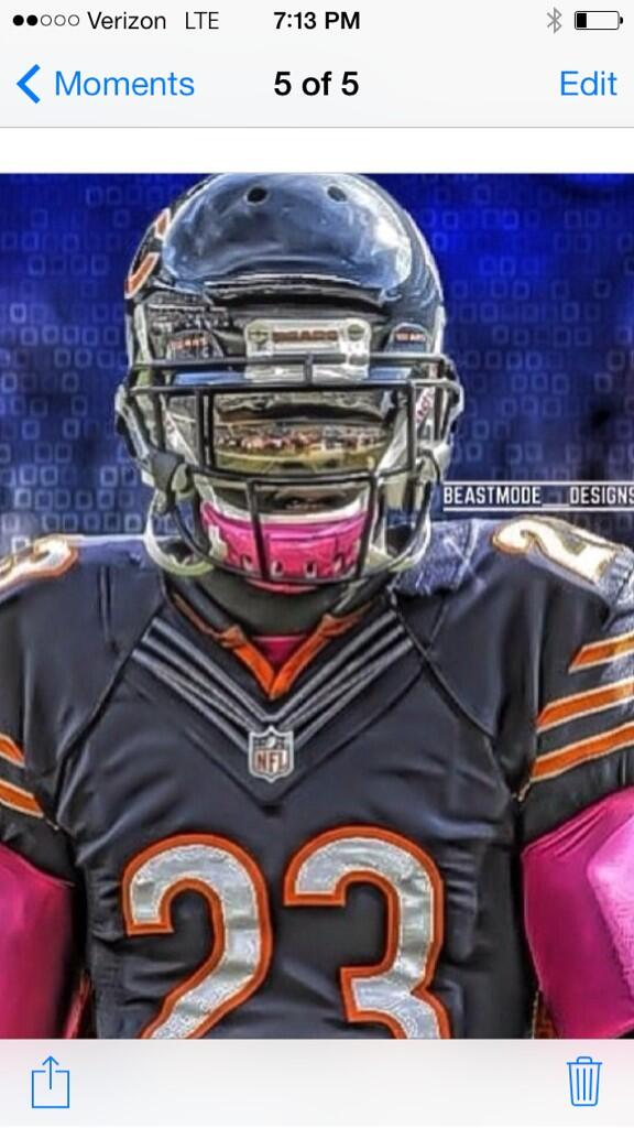 probably would never happen again and I always wanted to retire as a Bears http://t.co/YbrOa1XxmE