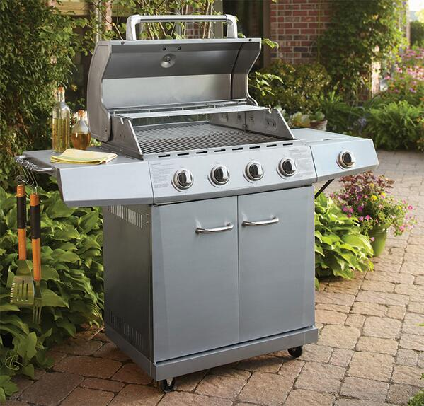 What's your fave BBQ recipe? Cook it on our Stainless Steel 4 Burner Grill, just $258! RT to #win #WalmartWednesday http://t.co/wV6ofO3RST