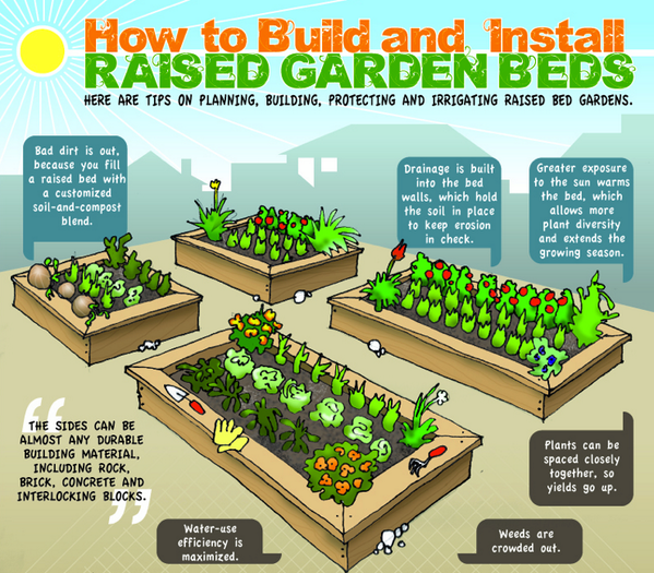 #rooftop How to build raised and install raised #garden beds @GrowSmthngGreen @Lets_Grow_Green @greenhomestead http://t.co/K9N59Tq4U1