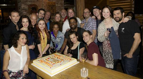 Last night marked the #WizardOfOz US Tour's 200th performance & we couldn't celebrate that without a giant cake! http://t.co/PuE6EgSes9