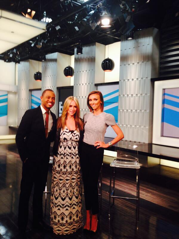 Had a blast on w/ talking about my #LbyJLH line today. Watch tonight