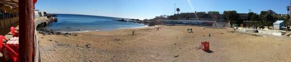 Hoy la playa Las Torpederas esta impecable, agradecemos a todos quienes limpiaron y cuidan nuestros espacios públicos http://t.co/xwUhfcl0fM