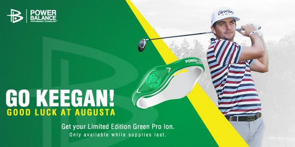 Now Available: Limited Edition - Green Pro Ion. Just in time for the @The_Masters in Augusta. #GoKeegan! http://t.co/gPoz0HnoOw