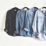 different shades of denim shirts http://t.co/BmLULDtygw