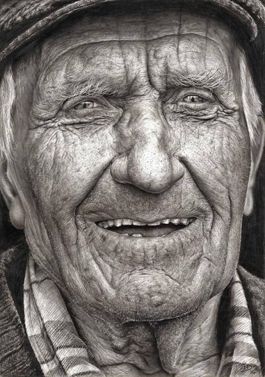[뉴스] 사진 아냐.16세 소녀가 그린 극사실적 그림.  '콜맨'이란 제목의 이 그림은 최근 아일랜드에서 열린 텍사코 아동미술대회라는 60년 전통의 대회에서 우승한 작품http://t.co/HELotqI6Nu http://t.co/h0k92qh6ZU