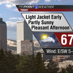 Little chilly to start but pleasant afternoon coming to #Denver. http://t.co/jf8ZrKcjFx