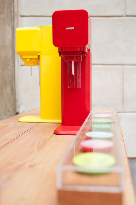 Co.Design @FastCoDesign: Seltzer fans: Add flavors, mix-and-match colors with @SodaStream's new fizzy water machine: http://t.co/0EMTSopC2H http://t.co/SzAJUfc1xF