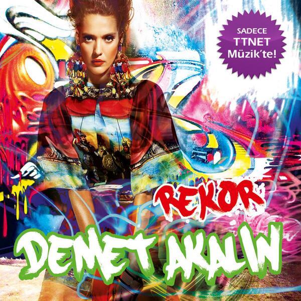 Bu albüm çok konuşulacak! Demet Akalın yeni albümü Rekor'la sadece ama sadece TTNET Müzik'te. http://t.co/FebINawZxG http://t.co/TbfKv7JUa1