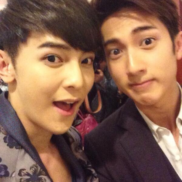 #JiroWang & #WuChun http://t.co/YDo6JiA1OH