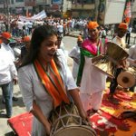RT @rajeshjagasia: Young girls in all might in Modi rally...their Singham is here #MODIfiedKASHI http://t.co/LHRwOdgpXj