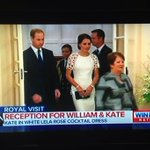 And the winner is... Lela Rose. Kate elegant in ivory this evening. #RoyalVisitAus http://t.co/kOeMePvYFh