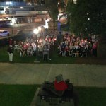 Anzac nurses candlelit vigil at Anzac Square in Brisbane tonight http://t.co/JCPtlByHGi