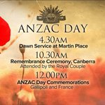 RT @9NewsAUS: Our special #AnzacDay LIVE coverage will begin from 4.30am tomorrow on @Channel9 http://t.co/hHlPeJAbp6