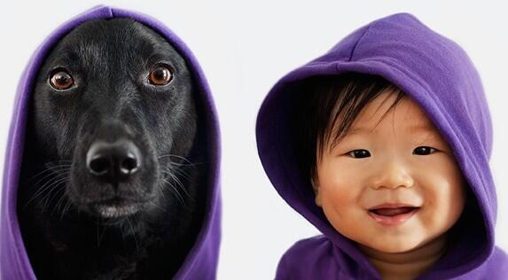 OMG Facts @OMGFacts: A Baby And His Puppy Are Matching Outfits And It's the Cutest Thing You'll See Today ---> http://t.co/FFcv6CUkpp http://t.co/cUK9HnWnDd