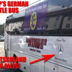 RT @PSbook: NEW → Even UKIPs election battle bus is German! http://t.co/Ekrook14IE German secretary. German bus. http://t.co/wX753EidR0
