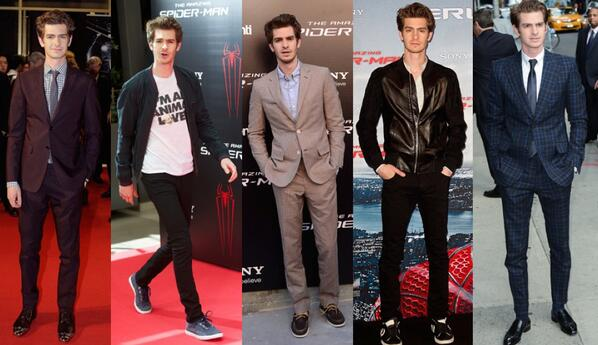 Style Icon: All eyes are on Andrew Garfield, whose fresh approach to casual and formalwear never disappoints. http://t.co/cyGz1StchJ