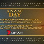 Dawn Service from 4.50AM - @Channel7 #anzacday coverage (times AEST) http://t.co/Rzs3b3MopH