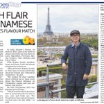 My interview with Luke Nguyen in todays paper #LukeNguyensFrance #myclient http://t.co/48WWxiOXqs