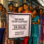 This #FashionRevolutionDay its time to ask #WhoMadeYourClothes. Tell the world go #insideout! @Fash_Rev http://t.co/gxkXl5Woun