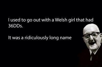 Here's a welsh joke to brighten up your first day back after the Easter break: #joke #funny #Wales http://t.co/7JBXuMemUv