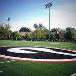 RT @FootballUGA: Its a beautiful morning on #EarthDay here in Athens. The new @FieldTurf is officially down on the practice fields! http://t.co/wuknpzga6I
