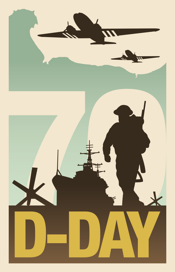 This year marks the 70th anniversary of D-Day. Major events will mark the occasion. More info: http://t.co/0M8zOdq90C http://t.co/jJnXUElQCI