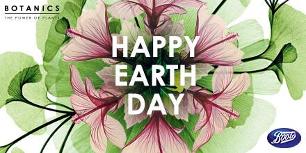 Happy Earth Day Boots Beauties! RT this post and follow to enter our Botanics Earth Day Giveaway #KissMeImOrganic http://t.co/8kjH24WFa4