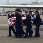 RT @WSMV_AnneMcCloy: #BREAKING Remains of World War II soldier being returned to Tennessee right now at BNA @WSMV http://t.co/PoxlAtjz6a