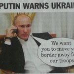Genius. Putin gag from @PrivateEyeNews http://t.co/8YLIuI1jZV