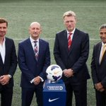 2 days before the season started, these were the managers at the Premier League launch. http://t.co/YYbC5FlzNw