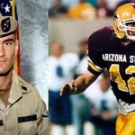 RT @BDenny29: Sun Devil, American, Hero, Legend. The world is a better place because of your life and legacy. #PT42 http://t.co/q9uDPtukWN