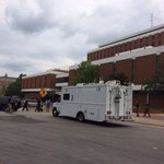 Bomb squad is on the scene at the Auburn Haley Center. http://t.co/FrvT7BGJtN