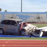 Students gasp as the see the injuries #DHSMockCrash @DobsonHigh http://t.co/djMXrFamw6