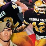 RT @ASUDeltaChi: Today we salute fellow Sun Devil and Army Ranger Pat Tillman who died 10 years ago fighting for his country. http://t.co/ZhkyYEZiwo