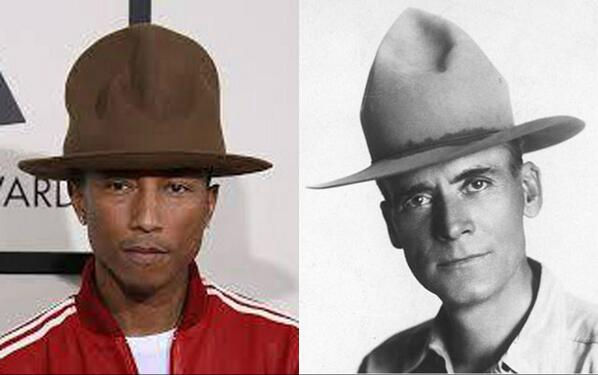 Think singer Pharrell Williams' signature hat is an original look? See AZ's 1st Game Warden, F.W. Rogers, 100yrs ago: http://t.co/lIl2vx6a0j