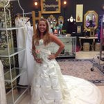 RT @GraceWorksTN: Wedding bells? Save $$$ & check out dresses @GraceWorksTN - Amy looks lovely! 104 Southeast Pkwy, Franklin! http://t.co/ZFeIi1ekNt