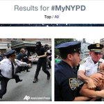 RT @VICE: Everyones Tweeting Photos of Police Brutality Thanks to the Failed #MyNYPD Hashtag http://t.co/5b0rlKO5ZO http://t.co/fZxlh5N79l