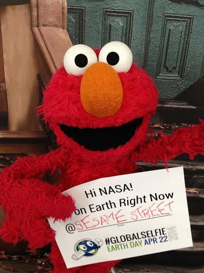 This tickles me. RT @sesamestreet: Elmo is so excited for Earth Day! Here's Elmo's #GlobalSelfie! http://t.co/xZZJrlYtfP