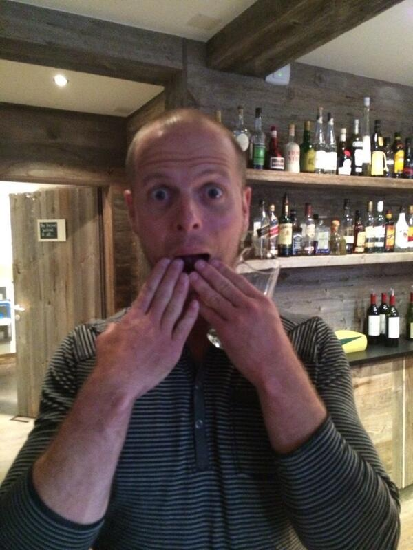 Tim Ferriss's podcast hits # 1 on iTunes! Reaction shot! @tferriss cc: @dang @bryan_johnson http://t.co/ubhvCRW1ny